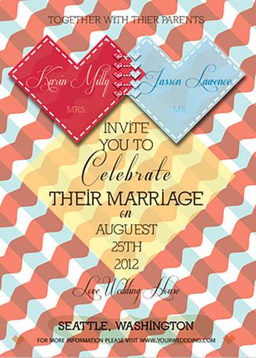 Wedding Invitation Package - Spirited Heart