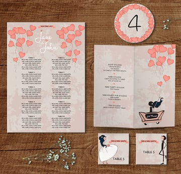 In the Air: Wedding Pack