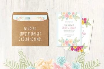 Floral Wedding Set