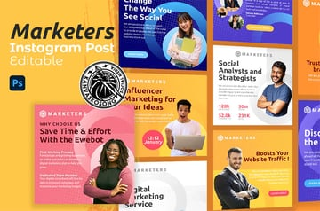 Marketers Infographic for Instagram