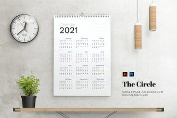 12 Monthly Calendar Template