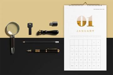 Editable Yearly Calendar Template