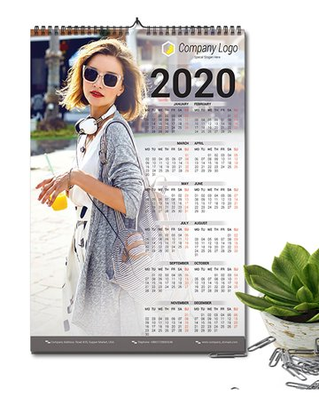 Easy Printable Calendar Template