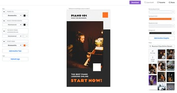 Step 1: Choose aMusic Lessons FlyerTemplate