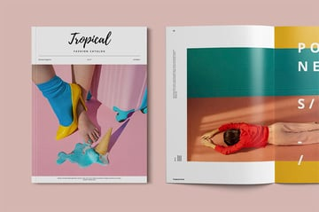Tropical Booklet Design Template