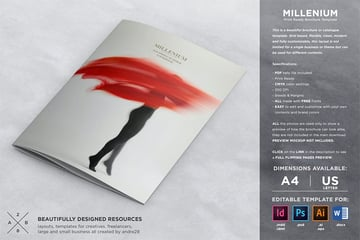Millenium Brochure Booklet Template