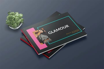 Glamour Custom Booklet Template