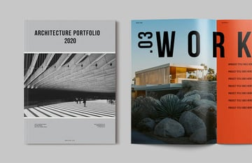 Architecture Booklet Layout Template
