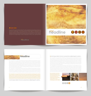 Headline Booklet Design