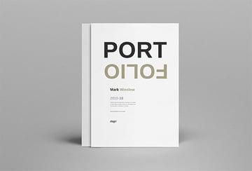 Portfolio Custom Booklet