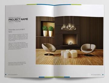 Interior Custom Booklet