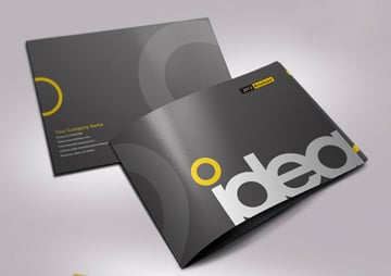 Idea Print Booklet InDesign