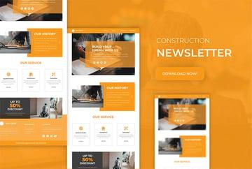Construction | Newsletter Template