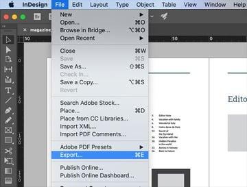 How to create a PDF?