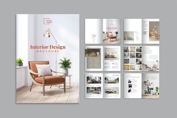 Interior Design Brochure Design Template