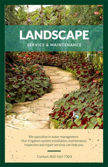 Landscaping Business Flyers