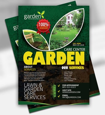Gardening Flyer