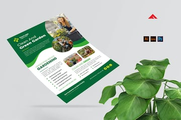 Gardening and Landscaping Flyers