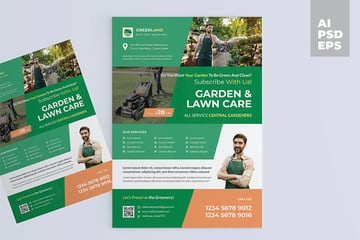 Garden and Lawn Care Flyers