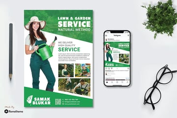 Lawn and Gardening Flyers
