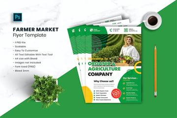 Farmer Market Landscaping Flyer