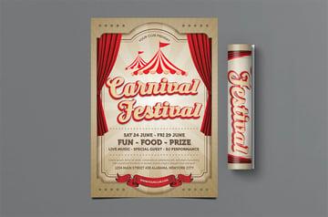 Carnival Festival Flyer
