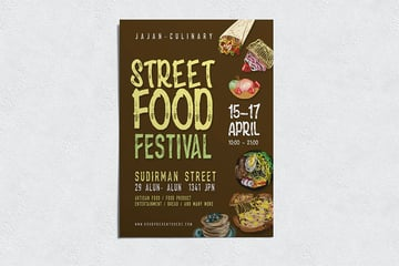 Festival FoodsFlyer
