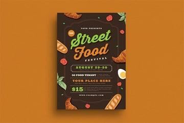 Street Food Festival Flyer