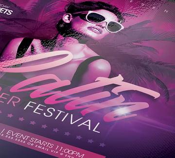 Multicultural Festival Flyer Template