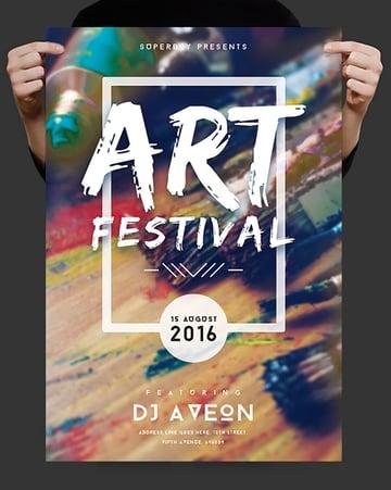 Art Festival Flyer Design
