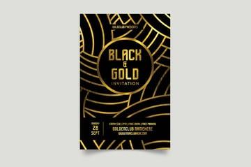 Black and Gold Design