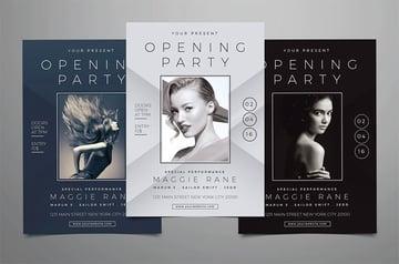 Salon Grand Opening Flyer
