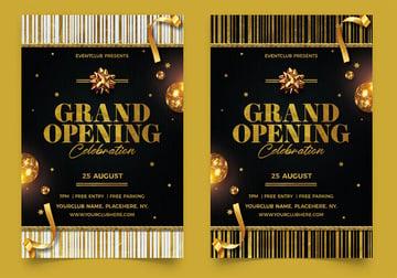 Grand Opening Flyer for Hair Salon