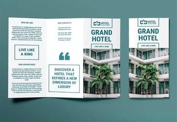 Hotel Brochure Trifold