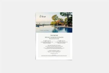 Hotel Pamphlet Design (AI, EPS, PSD)