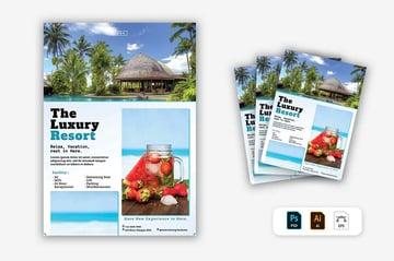 Luxury Resort Brochure