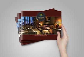 Hotel Pamphlet Design