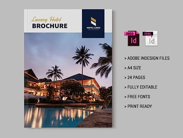 Luxury Hotel Brochure Examples