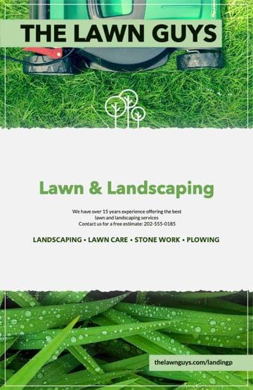 Lawn Company Flyers