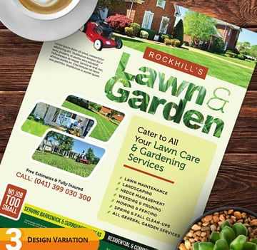 Lawn Care Flyer Examples