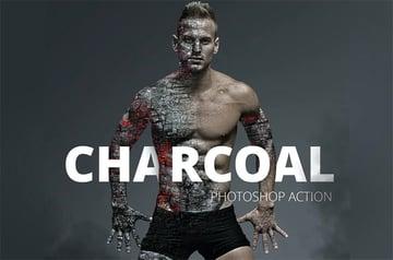Charcoal Photoshop Action