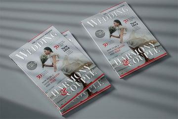 Wedding Cover Magazine Template
