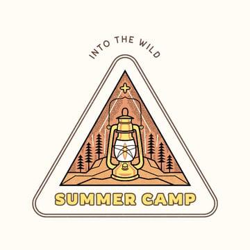 Into the Wild Teen Camp Logo