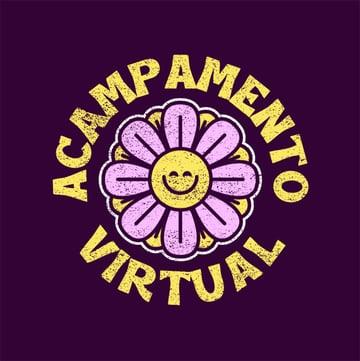 Acampamento Camp Logo Summer