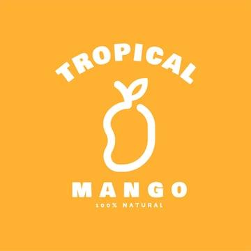 Tropical Fruit Logo