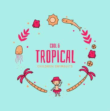 Tropical Logo Ideas