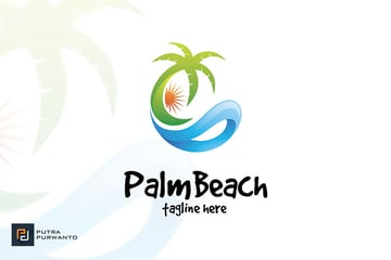 Tropical Tree Logo