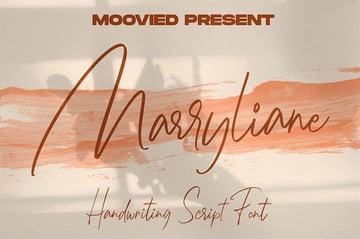 Marryliane Handwriting Font