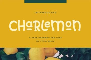 Charlemon Handwritten Slab Serif Font