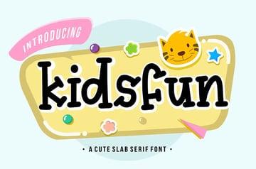 Kidsfun Display Font